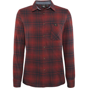 Elevenate Vallée Shirt Dam beetroot red beetroot red