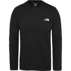The North Face Reaxion Amp LS Crew Herr TNF Black TNF Black