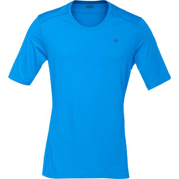 Norrøna Wool T-shirt Herr signal blue