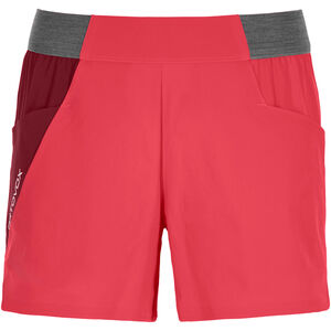 Ortovox Piz Selva Light Shorts Dam hot coral hot coral