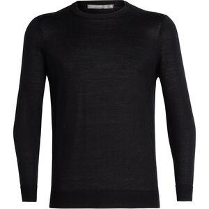 Icebreaker Quailburn Crewe Sweater Herr black black