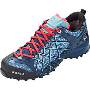 SALEWA Wildfire GTX Shoes Dam poseidon/capri poseidon/capri