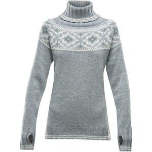 Devold Ona Round Sweater Dam grey melange grey melange