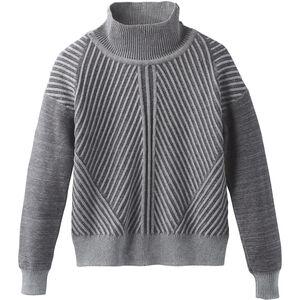 Prana Sentiment Sweater Dam heather grey heather grey