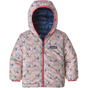 Patagonia Reversible Down Sweater Hoody Baby Barn Woodland Floral/Prima Pink Woodland Floral/Prima Pink