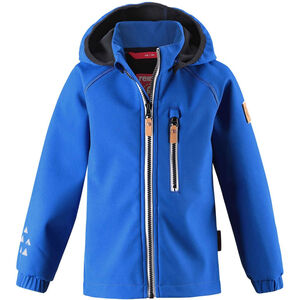 Reima Vantti Softshell Jacket Barn blue blue