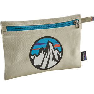 Patagonia Zippered Pouch fitz roy scope icon/bleached stone fitz roy scope icon/bleached stone