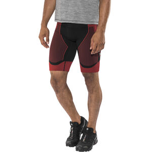 X-Bionic Effektor Power Running Pants Short Herr black/red black/red