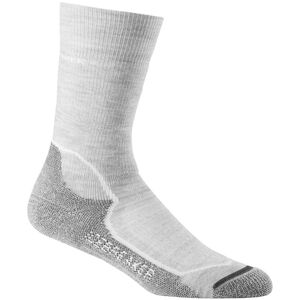 Icebreaker Hike+ Crew Socks Medium Dam blizzard hthr/white/oil blizzard hthr/white/oil