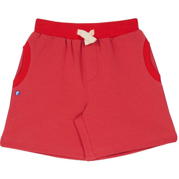 Finkid Ankka Sweatshorts Barn cranberry/red