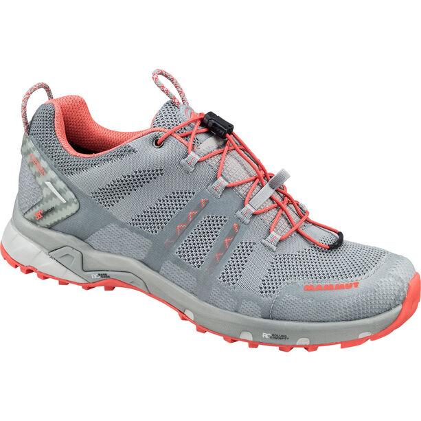 Mammut T Aegility Low GTX Shoes Dam neutral grey-barberry