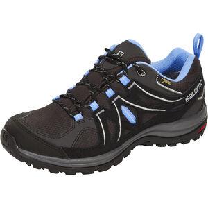 Salomon Ellipse 2 GTX Shoes Dam asphalt/black/petunia blue asphalt/black/petunia blue