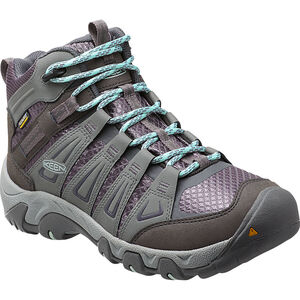 Keen Oakridge Mid WP Shoes Dam gray/shark gray/shark