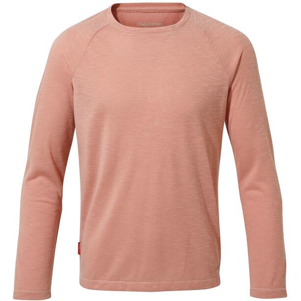 Craghoppers NosiLife Paola Long Sleeved T-Shirt Flickor rosette slub