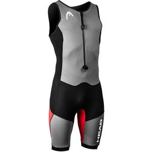 Head Swimrun MyBoost Lite Wetsuit Herr black/silver/red black/silver/red