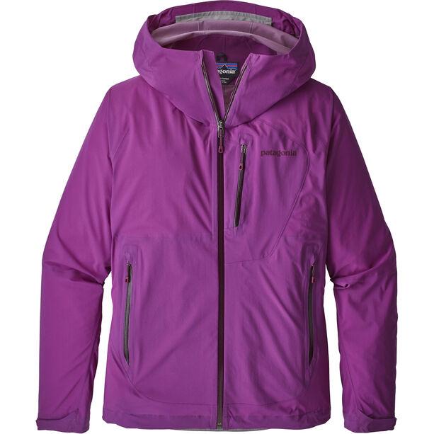 Patagonia Stretch Rainshadow Jacket Dam ikat purple