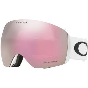 Oakley Flight Deck Snow Goggles Herr matte white/prizm hi pink iridium matte white/prizm hi pink iridium