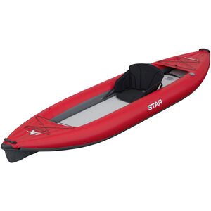 NRS STAR Paragon XL Inflatable Kayak red red