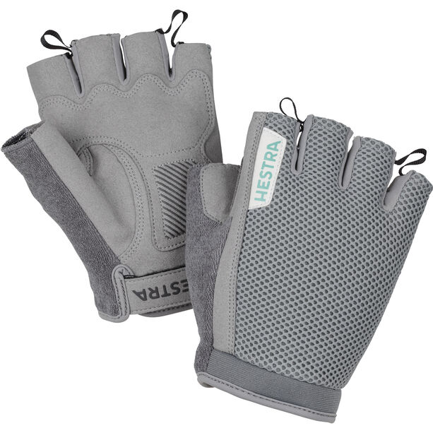 Hestra Bike SR Short Finger Gloves light grey