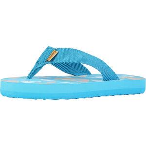 Reima Plagen Sandals Barn bright turquoise bright turquoise