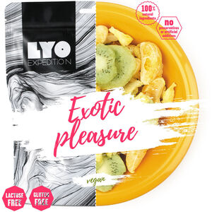 Lyofood Exotic Pleasure Banana/Pineapple/Tangerin/Kiwi 30g