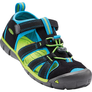 Keen Seacamp II CNX Sandals Barn black/blue danube black/blue danube