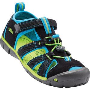 Keen Seacamp II CNX Sandals Barn black/blue danube black/blue danube