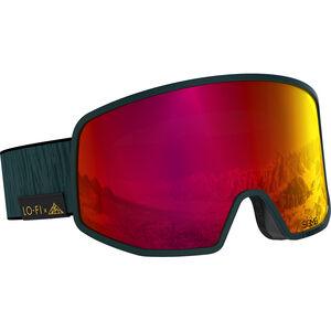 Salomon LO FI Sigma Goggles green gables/pop red green gables/pop red