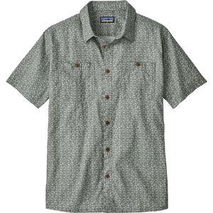 Patagonia Back Step Shirt Herr batik hex micro: hex grey batik hex micro: hex grey