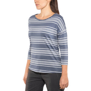 Patagonia Shallow Seas 3/4 Sleeved Top Dam lightning stripe: dolomite blue lightning stripe: dolomite blue