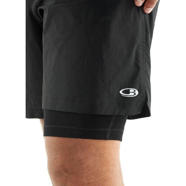 Icebreaker Impulse Training Shorts Herr black