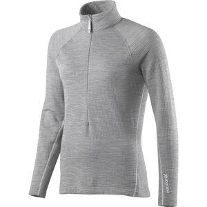Houdini Wooler Half Zip Sweater Dam college grey college grey
