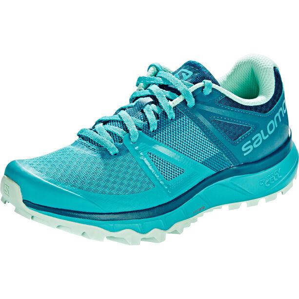 Salomon Trailster Shoes Dam bluebird/deep lagoon/beach glass