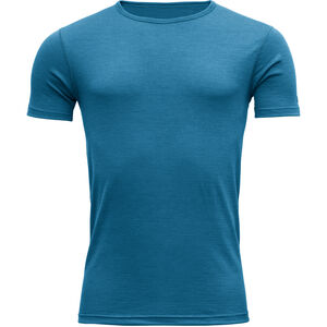 Devold Breeze T-shirt Herr blue melange blue melange