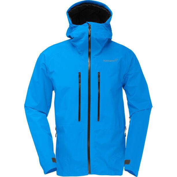 Norrøna Trollveggen Gore-Tex Light Pro Jacket Herr signal blue