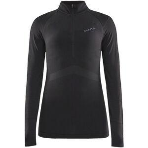 Craft Active Intensity Zip Shirt Dam black/asphalt black/asphalt