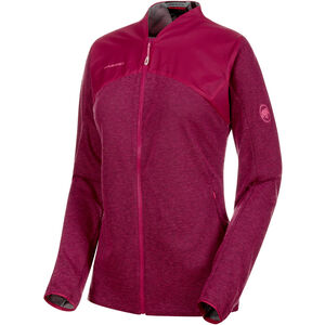 Mammut Alvra ML Jacket Dam pink melange-pink pink melange-pink