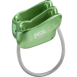 Petzl Verso Belay Device green green