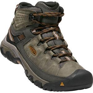 Keen Targhee III Mid WP Shoes Herr black olive/golden brown black olive/golden brown