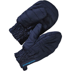 Patagonia Baby Puff Mitts Barn navy blue navy blue