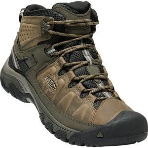 Keen Targhee III Mid WP Shoes Herr Bungee Cord/Black Bungee Cord/Black