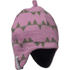 Isbjörn Eaglet Knitted Cap Barn dusty pink dusty pink