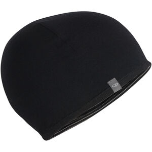 Icebreaker Pocket Hat Barn black/snow/black black/snow/black