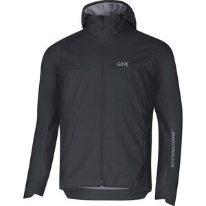 GORE WEAR H5 Gore Windstopper Insulated Hooded Jacket Herr black/terra grey black/terra grey