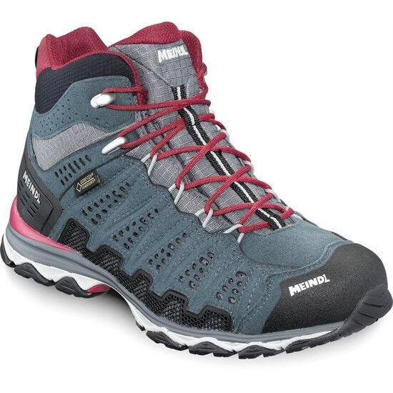 Meindl X SO 70 Mid GTX Shoes Dam turquoiseanthracite