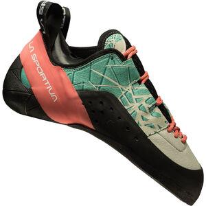 La Sportiva Kataki Climbing Shoes Dam mint/coral mint/coral
