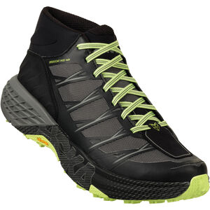 Hoka One One Speedgoat Mid WP Running Shoes Herr black/steel grey black/steel grey