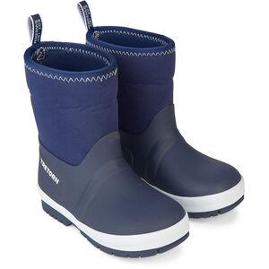 Tretorn Kuling Neoprene Rubber Boots Barn Navy/White Navy/White