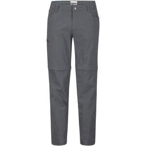 Marmot Transcend Convertible Pants Herr slate grey slate grey