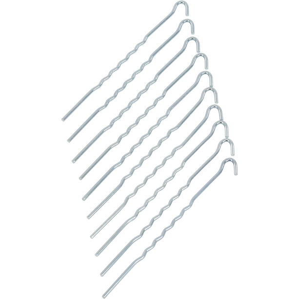 CAMPZ Steel Ground Peg 22cm Wavy